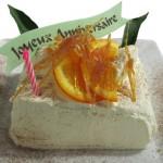 Nous vous offrons votre gâteau d'anniversaire (à réserver d'avance).