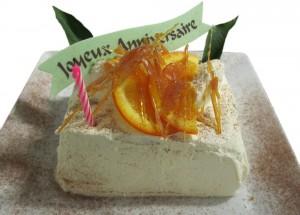 Votre gâteau d'anniversaire est offert (à réserver d'avance).