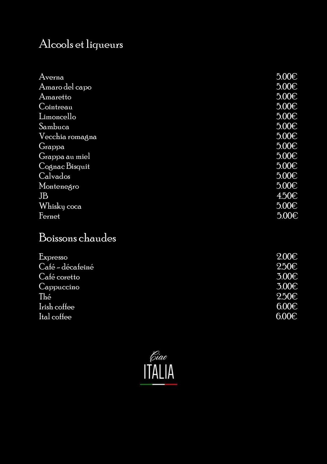 carte-ciaoitalia-303-alcool